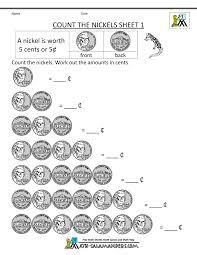free math worsheets free math money worksheets 1st grade