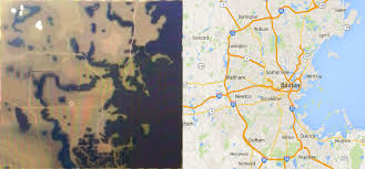 Fallout 4 Map With Locations by Fallout 4 Map Vs Real Life Boston City Map Comparison Shows Scale
