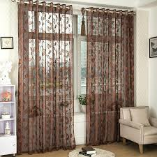 custom made kitchen curtains brown sheer curtains teawing co