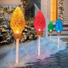 Led Christmas Pathway Lights Electric Led Gumdrop Christmas Pathway Lights Can Be Used To