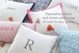 Pillow For Reading In Bed Kids Throw Pillows And Shams Pottery Barn Kids