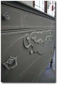 restoration hardware finish matte varnish over annie sloan chalk