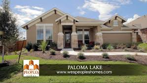 wes peoples homes at paloma lake round rock tx youtube
