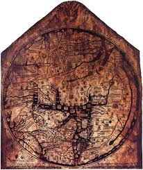 Medieval England Map by Mappa Mundi U2013 The Ultimate Medieval Map Hereford England