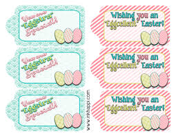 easter gift tags to help