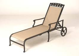 Outdoor Chaise Lounge Chairs With Wheels Unique Sling Chaise Lounge Chairs With Additional Outdoor