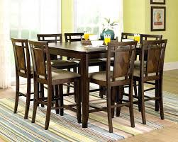 bar height dining room table sets high dining room table set the right height on a bar height dining