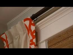 How To Attach Blackout Lining To Curtains How To Hang Curtains U0026 Liners Design Tips For The Home Youtube