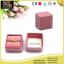 jewellery ring boxes wholesale from china manufacturer leather