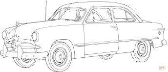 1949 ford car coloring page free printable coloring pages