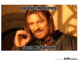 one does not simply by tanner meme center