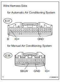 toyota rav4 service manual air conditioning amplifier