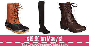 womens boots on sale at macys black friday deals s boots only 19 99 originally 69 99