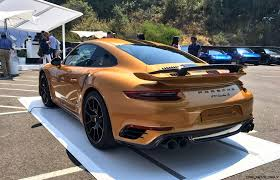 porsche 911 turbo s 2017 2018 porsche 911 turbo s exclusive series 19