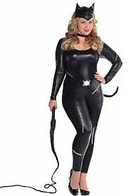 Catwoman Halloween Costumes Girls Size Women Halloween Costumes