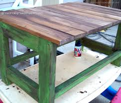 Ana White Picnic Table Ana White Rustic Reclaimed U0026 Scrap Wood End Table Diy Projects