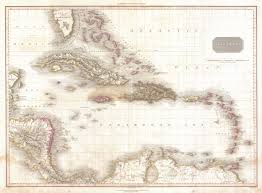 Caribbean Sea On Map by File 1818 Pinkerton Map Of The West Indies Antilles And