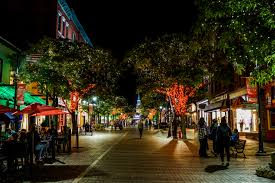 Vermont travel city images Free images pedestrian architecture road night town city