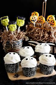 halloween treats for kids a pumpkin and a princess