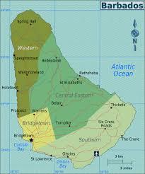 map usa barbados barbados wikitravel