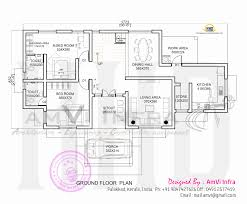 house made of laterite stone home kerala plans ground floor plan