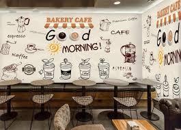 wallpaper coffee design custom retro wallpaper coffee 3d stereoscopic murals for the cafe