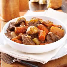 slow cooker beef stew taste of home