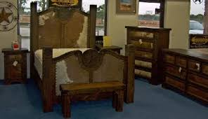 Rustic Furniture Depot Home - Cowhide bedroom furniture