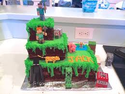 minecraft cake ever