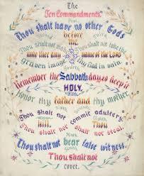 bible games the ten commandments for kids