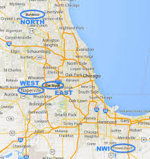 Evanston Illinois Map by Locations