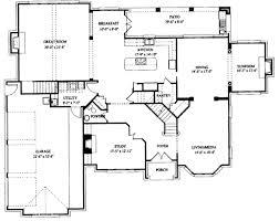 european style house plan 5 beds 3 50 baths 4263 sq ft plan 325 269