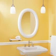 seemly brushed nickel tilt bathroom mirror oval bathroom framed