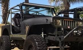 1995 jeep cj yj 50 led mount for 51 5 to 52 led lights