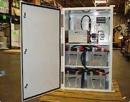 turnkey outdoor battery backup systems available in 12 48vdc and