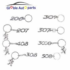 peugeot cars 408 aliexpress com buy key ring for peugeot car logo 206 207 307 308