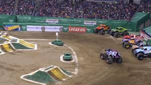 monster truck shows in indiana 2017 monster jam at indianapolis racing finals youtube