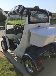 2007 gem electric golf cart with removable toolbox talk of the