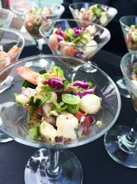 martini shrimp the abbey catering u0026 event design co seafood ceviche the abbey