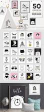 Global Decor Styles Scandinavian Style Decor U0026 Design Illustrations Creative Market