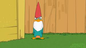 image perry as a lawn gnome jpg phineas and ferb wiki fandom