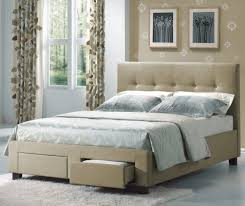Bedroom Furniture With Storage Underneath Bedroom Pretty Bedroom Design By California King Storage Bed