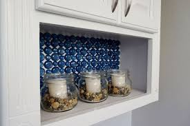 kitchen backsplash pics dollar store glass become a beautiful backsplash hometalk