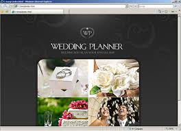 wedding planner websites website template 30938 wedding planning custom website