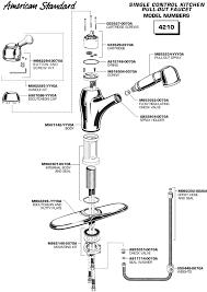American Standard Faucet Kitchen American Standard Kitchen Faucet Parts Visionexchange Co