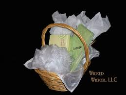 organic spa gift baskets gifts from wicker llc april 2010