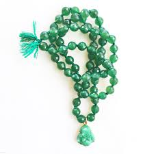 green agate necklace images Tenthings green agate buddha hand knotted beaded necklace n JPG
