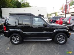03 jeep liberty renegade black clearcoat 2003 jeep liberty renegade 4x4 exterior photo