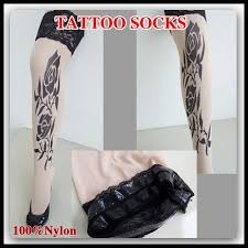 free shipping 50pairs lot lace tattoo stockings leggings