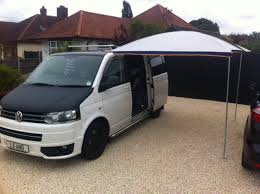 Van Awnings Vw T5 Bolt On Awning Rail For Roof Rack Camper Essentials